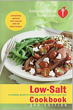 Low-salt Cookbook 3rd Edition + Bonus Book Free