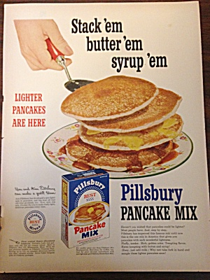Pillsbury Pancake Mix Ad