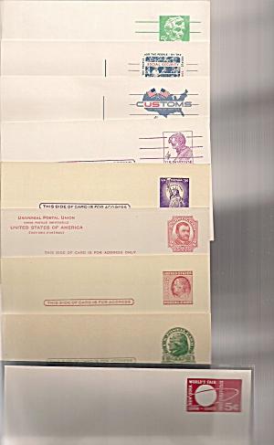 Postcards U.S. postal blank unused lot of 9 vintage (Image1)