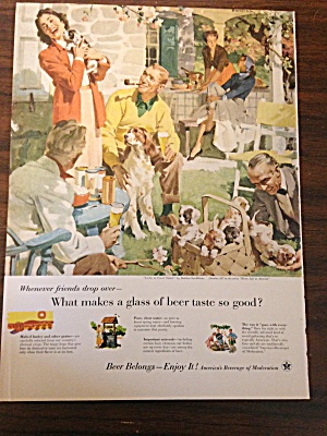 Vintage Ad By Us Brewers Foundation