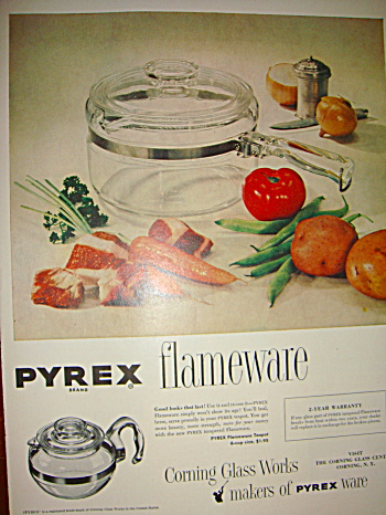 Pyrex Flameware original ad (Image1)