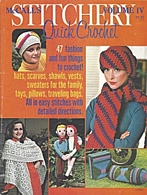 1976 McCall's Quick Crochet book (Image1)