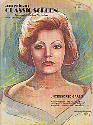 American Classic Screen Magazine 1980 Garbo (Image1)