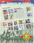 Click here to enlarge image and see more about item 1910stamps: 1910s Celebrate the Century USPS collector stamps