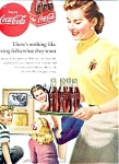 Click here to enlarge image and see more about item 35-Z970: 1951 Coca Cola Ad Sheet
