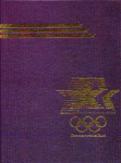 Click here to enlarge image and see more about item 39-74: 1984 COMMEMORATIVE BOOK XXIII RD OLYMPIAD