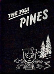 Click here to enlarge image and see more about item 39-85: THE 1951 PINES- BUCHANAN HIGH SCHOOL