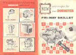 New Easy Recipes Dormeyer Fri-Way Skillet cookbook