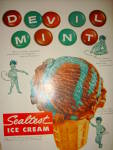 Devil Mint Sealtest Ice Cream ad