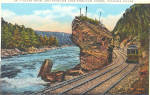 Click here to enlarge image and see more about item trolleyslk: Giant Rock and Trolley Niagara Falls