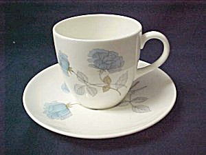 Wedgwood Ice Rose R4306 Demitasse Cup & Saucer