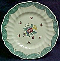 Royal Doulton Lowestoft Bouquet Dinner Plate