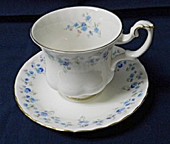 Royal Albert Memory Lane Demitasse Cup & Saucer