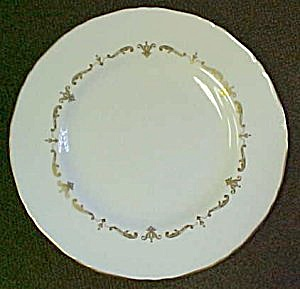 Royal Worcester Gold Chantilly Bread & Butter Plate (Image1)