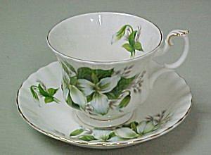 Royal Albert  Trillium  Cup & Saucer (Image1)