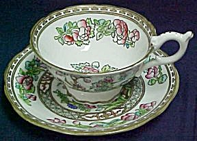 Coalport Indian Tree Cup & Saucer