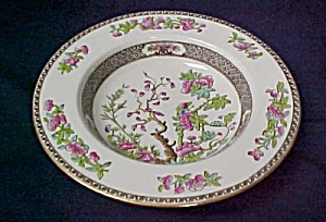 Spode Indian Tree Rimmed Soup Bowl