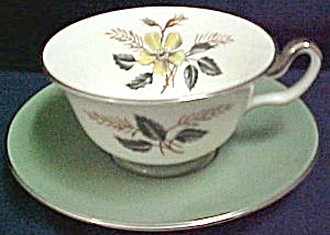 Wedgwood Greenwood W4223 Cup & Saucer