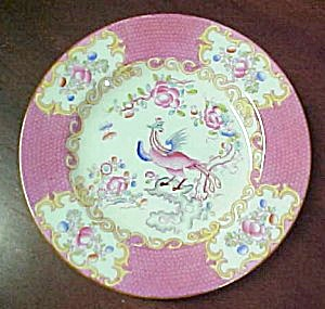 Minton Cockatrice (Pink) Bread & Butter Plate