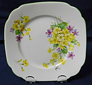 Royal Albert Primulette Bread & Butter Plate