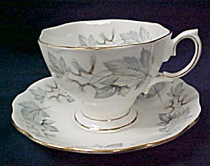 Royal Albert Silver Maple Cup & Saucer