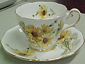 Royal Standard Brown Eyed Susan Cup & Saucer