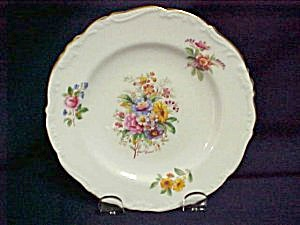 Coalport Fragrance Bread & Butter Plate
