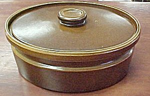 Wedgwood Sterling (Brown) Covered Casserole