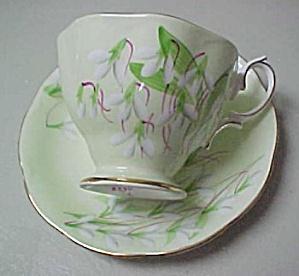 Royal Albert  Laurentian Snowdrop  Cup & Saucer (Image1)