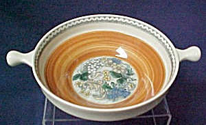 Goebel Burgund Soup Bowl