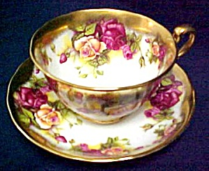 Royal Chelsea Golden Rose 3983A Cup & Saucer (Image1)