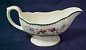 Spode Chinese Rose Gravy Boat Only