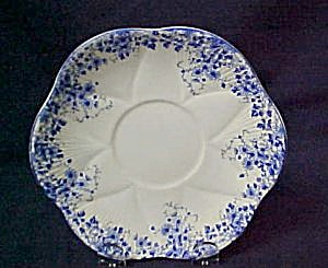 Shelley Dainty Blue Cream Soup Saucer