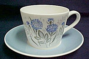 Royal Tuscan Cornflower Cup & Saucer