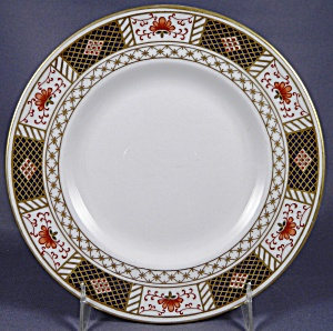 Royal Crown Derby Derby Border Salad Plate