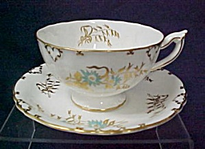Royal Crown Derby Saint Claire Cup & Saucer