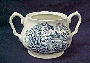 Myott Hunter Sugar Bowl - Lid Missing