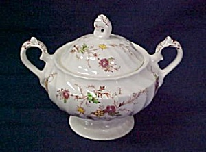 Myott Heritage Sugar Bowl With Lid