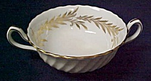 Minton Golden Symphony Cream Soup Bowl