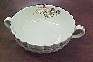 Spode Cowslip S713 Cream Soup Bowl