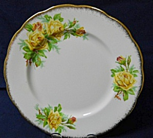 Royal Albert Tea Rose Round Luncheon Plate