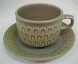 Wedgwood  Cambrian  Cup & Saucer (Image1)