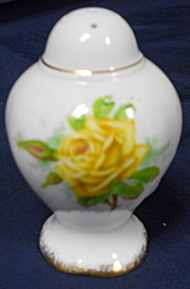Royal Albert Yellow Tea Rose Pepper Shaker