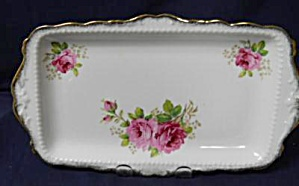 Royal Albert American Beauty Sandwich Tray