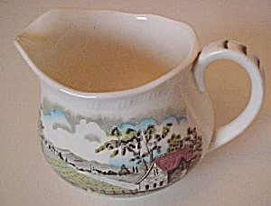Alfred Meakin Home Pastures (Multi/Green) Creamer (Image1)