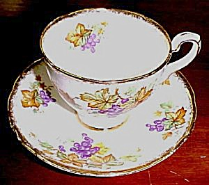 Royal Stafford Oregon Grapes Cup & Saucer