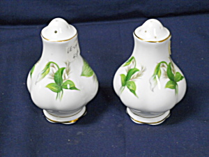 Royal Albert Trillium Salt & Pepper Set