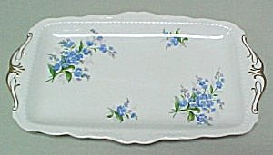 Royal Albert Forget Me Not Sandwich Tray