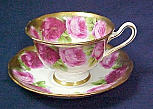 Royal Albert Old English Rose  Cup & Saucer (Image1)