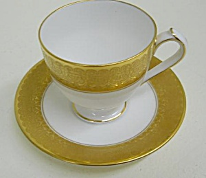Royal Crown Derby Saint George Ad Cup & Saucer